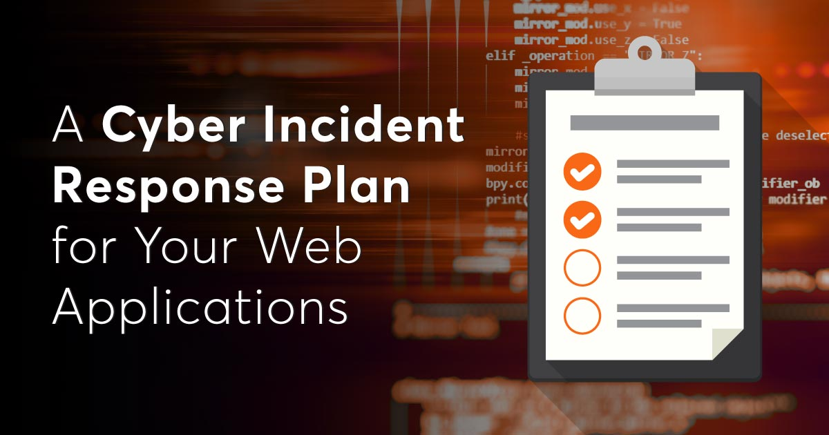 This useful data security incident response plan template is available in pdf format so that you can download this template in your favorite pdf editor and check out the outline for the data security response plan. A Cyber Incident Response Plan For Your Web Applications Netsparker