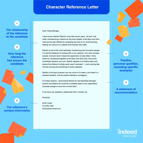 How to Ask for a Character Reference | Indeed.com