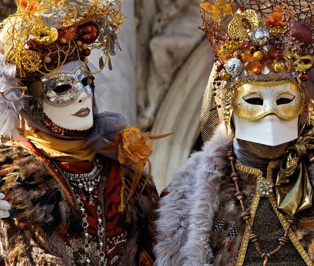 Venice Under The Mask