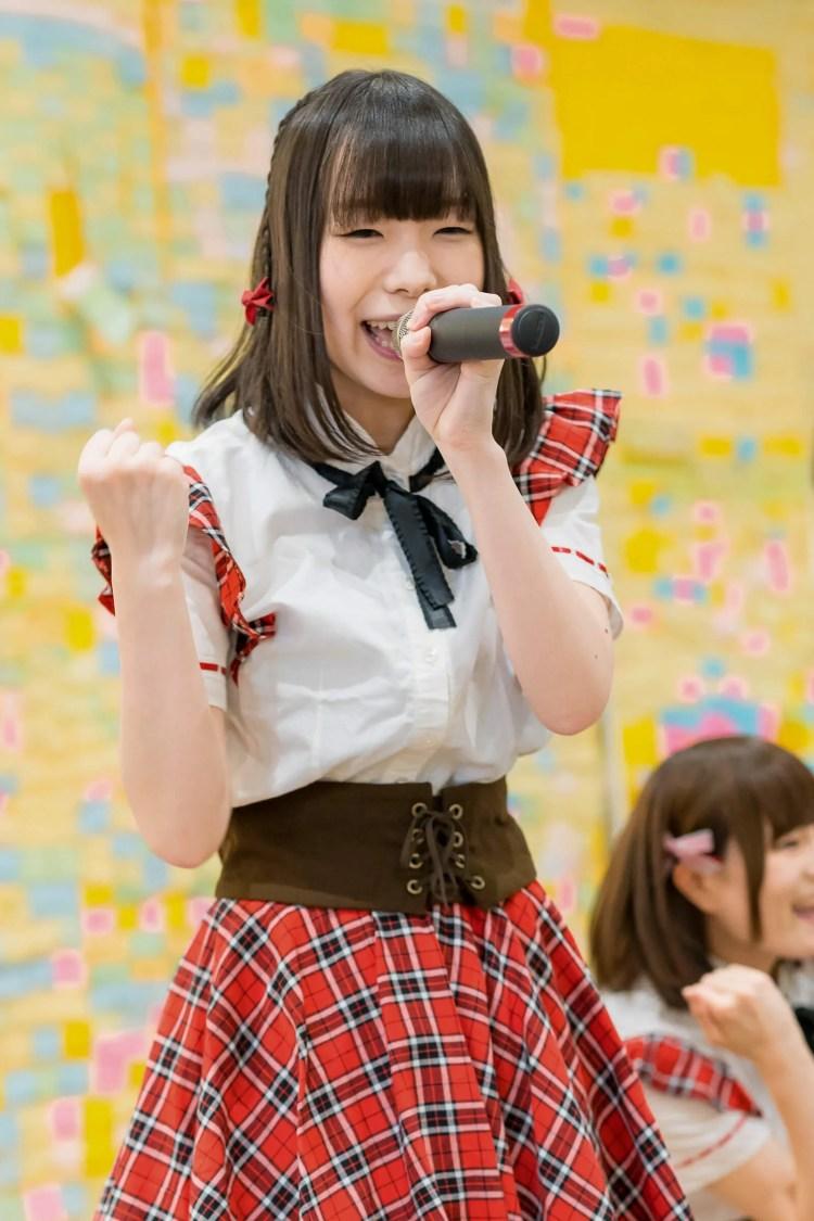 2代目HAPPY少女♪ やよたん ( 鈴木やよい )   フルーティー♡メジャーシングル第2弾「FRONT LINER」リリースイベント