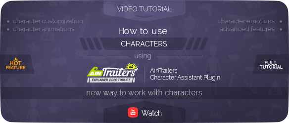 AinTrailers | Explainer Video Toolkit with Character Animation Builder - 103