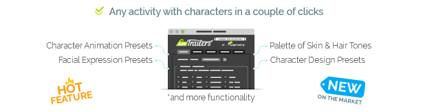 AinTrailers | Explainer Video Toolkit with Character Animation Builder - 64