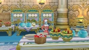 厨房にいるメイド「ネフネー」