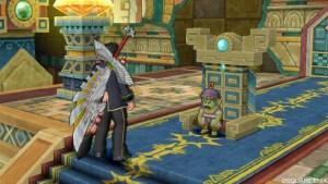 ドルワーム水晶宮王座の間にいるウラード国王