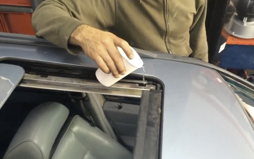 How To Clean Out Plugged Sunroof Drains On Demand Video