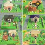 【あつ森】住人の庭作り用のオススメ参考画像まとめ(区画サイズ別)