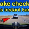 BEST OF THE MONTH | Road Rage, Crashes, Bad Drivers, Instant Karma Brake Check Gone Wrong USA Canada