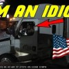 A Day in The Life of an American Truck Driver – Road Rage, Brake Check, Car Crash, Instant Karma USA