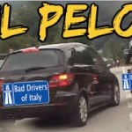 BAD DRIVERS OF ITALY dashcam compilation 06.24