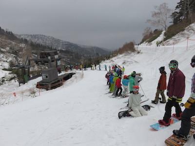 15スノーボードかぐら