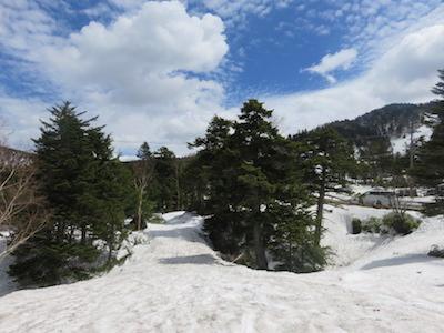 9横手山渋峠スキー場