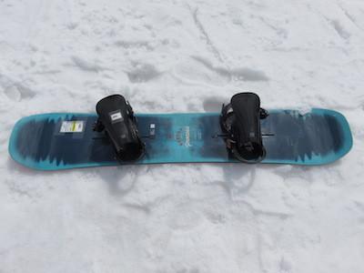 2スノーボードBURTON PROCESSキャンバー