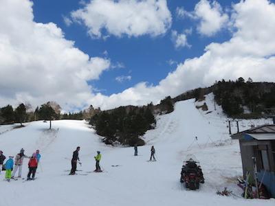 52横手山渋峠スキー場