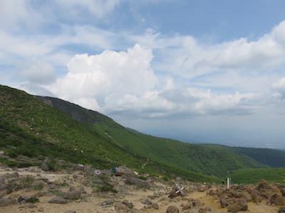22安達太良山