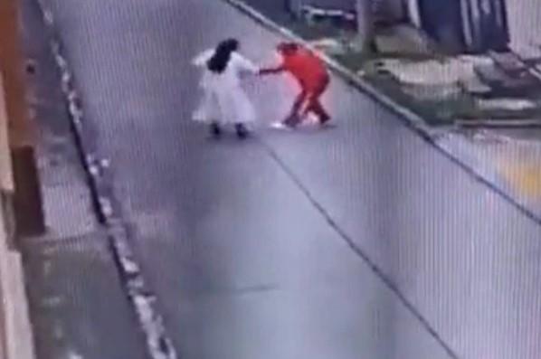 """Capturaron a """"Mala Leche"""", el delincuente que golpeó y robó a una monja de 72 años en Colombia"""