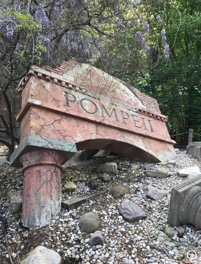 Busch gardens williamsburg review pompeii