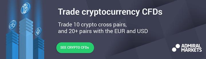 Fai trading di CFD su criptovalute