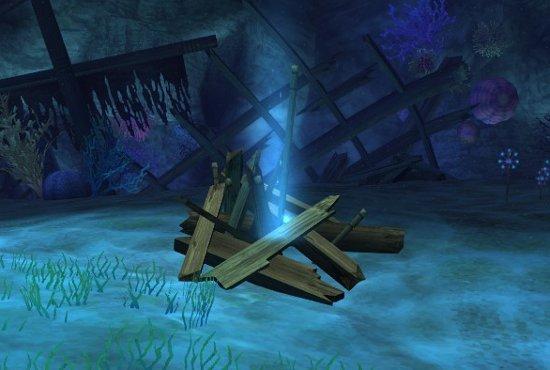 剣柄の洞くつ ガラクタ