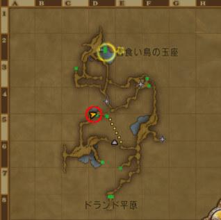 鬼岩城マップ