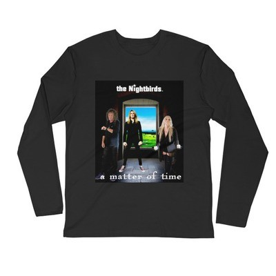 A MATTER OF TIME - Men's Long Sleeve Fitted Crew