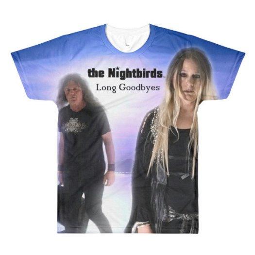 the Nightbirds LONG GOODBYES Men's Sublimation crewneck t-shirt