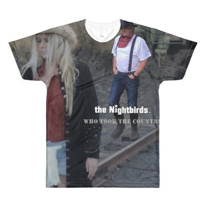 the Nightbirds WHO TOOK THE COUNTRY Men's Sublimation crewneck t-shirt