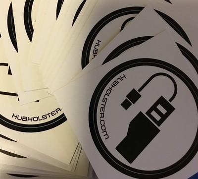 HubHolster.com Sticker