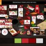 Restaurant Brand R01003 Red Primary Color