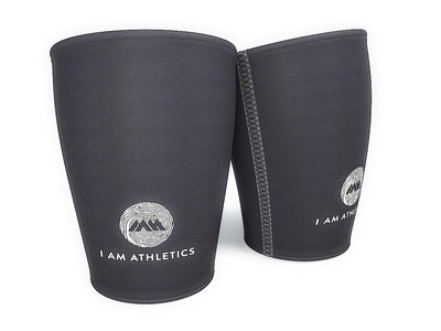 I  Am  Athletics  Neoprene  Knee  Sleeves - White, Blue, Gray, or Pink