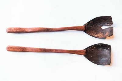 Samoan Kitchen - Square Salad Servers