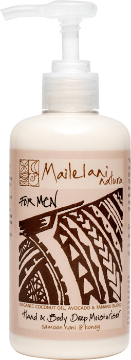 For Men (Polynesian Scent) HAND & BODY LOTION 300ml