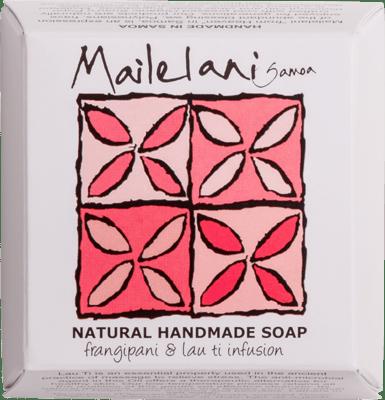 Frangipani Natural & Lauti Infusion Handmade Soap 110gm / 3.9 oz