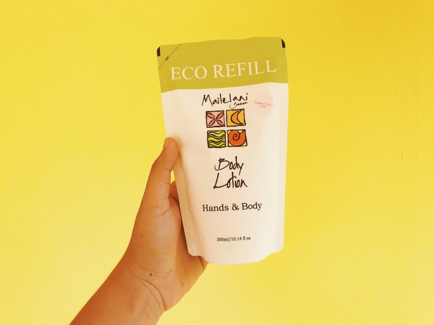 Papaya and Mango- Eco Refill Pouches 300ml Lotion 00117