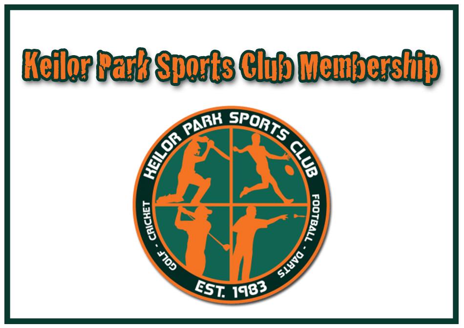 Keilor Park Sports Club Membership 00015