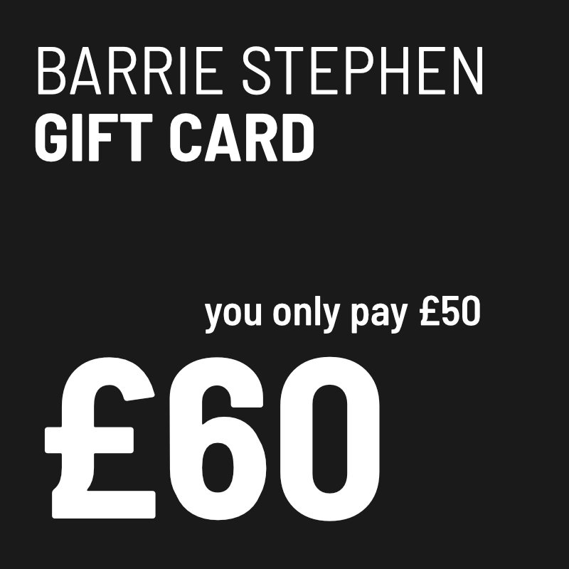£50 Barrie Stephen Gift Card + £10 Free Hair Service Voucher 01