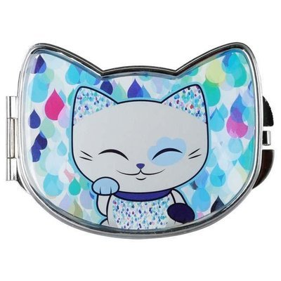 Mani the Lucky Cat Compact Mirror