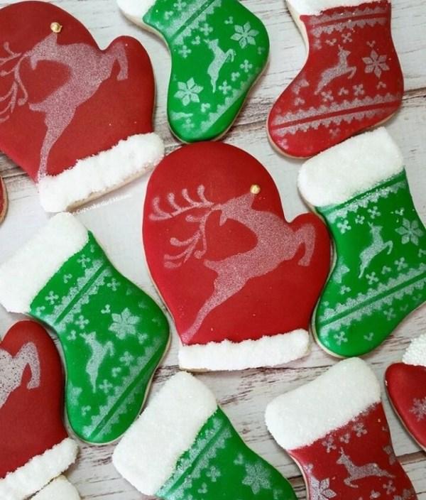 Cold Christmas Sugar Cookies