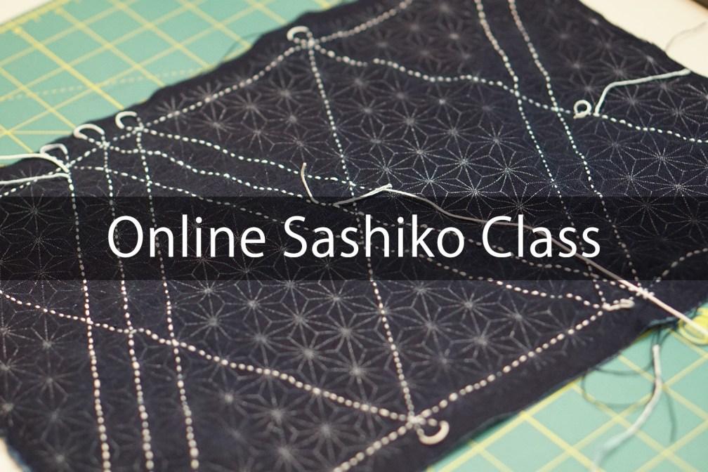 Vimeo Online Sashiko Class | Basic and Core