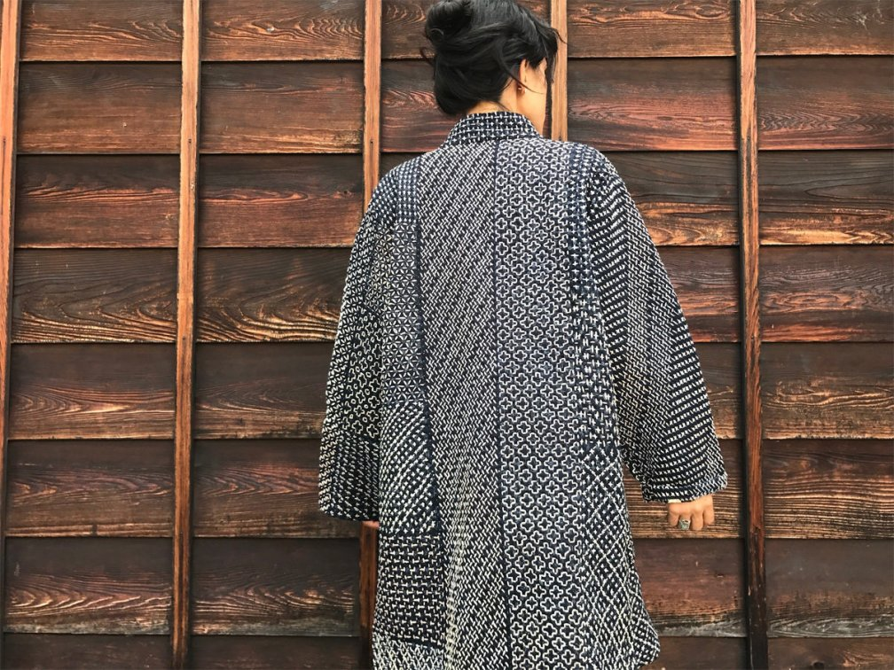 Hitomezashi Sashiko Workshop