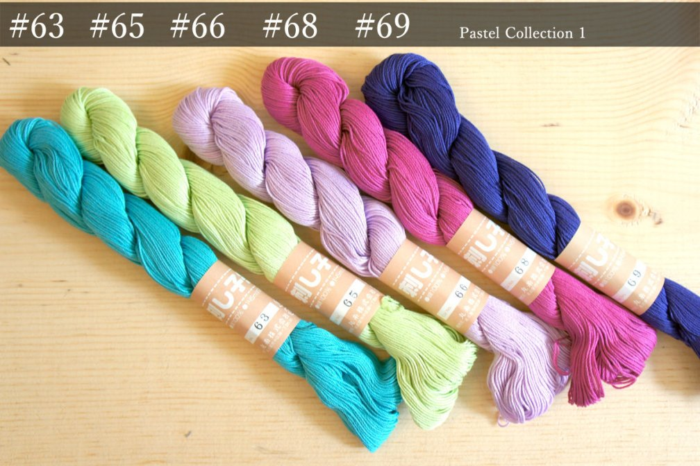 Sashiko Thread | Unique Pastel Color PC_Thread_MI_