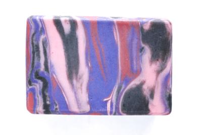 BLACK MAGIC RASPBERRY activated charcoal raspberry leaf soap