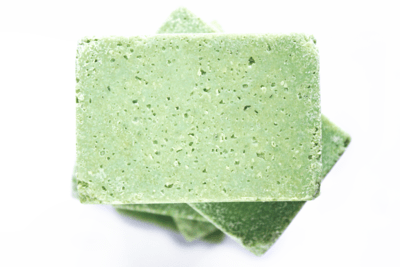 SALT OF THE EARTH aloe and lime salt bar soap