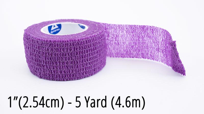 "Sensi Hand Piece Wrap - Purple 1"" MBCSWPUR2"