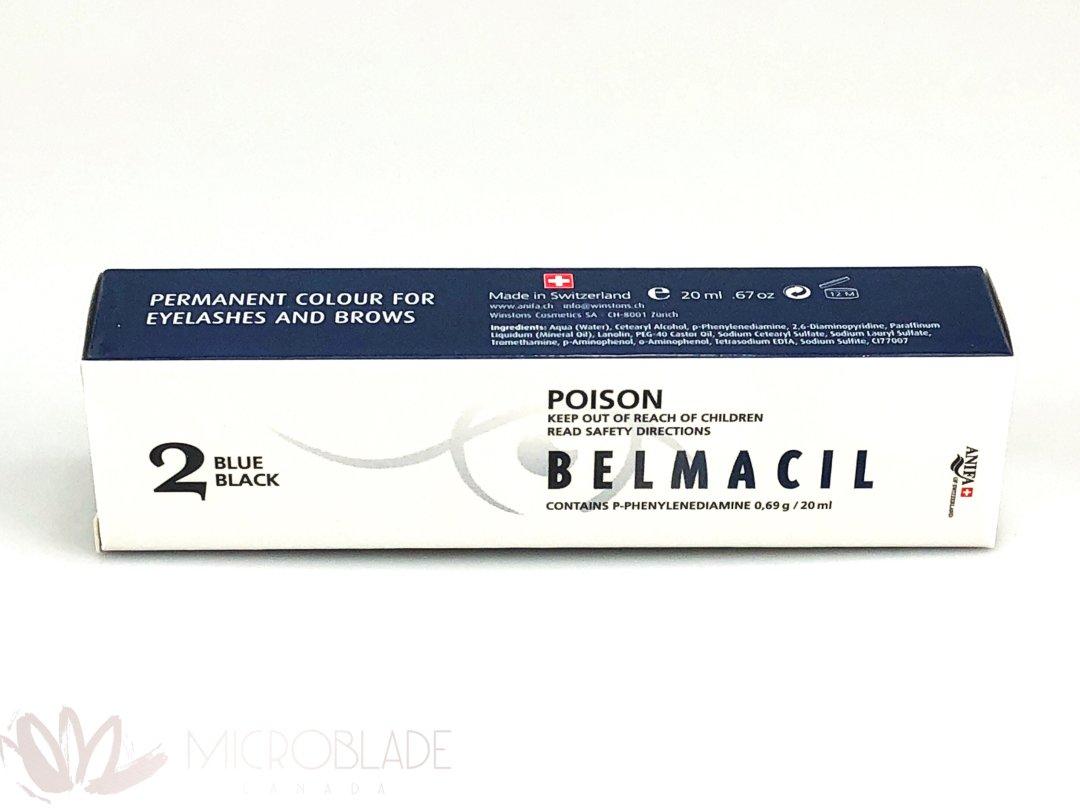 Belmacil Eyelash & Brows Tint - #2 Blue Black MBCBEBT02