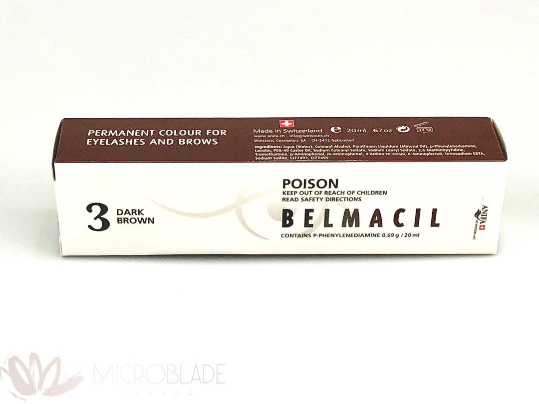 Belmacil Eyelash & Brows Tint - #3 Dark Brown MBCBEBT03