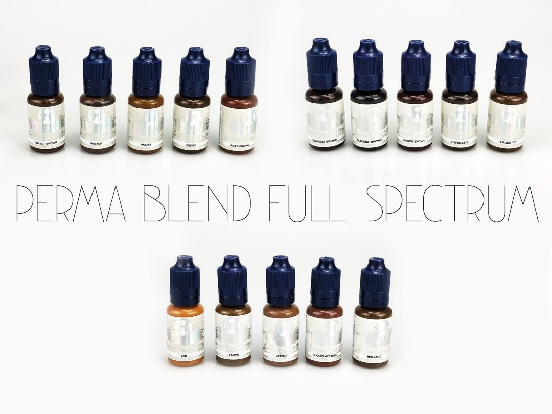 Perma Blend Pigments - Full Spectrum Kit MBCPBFS04