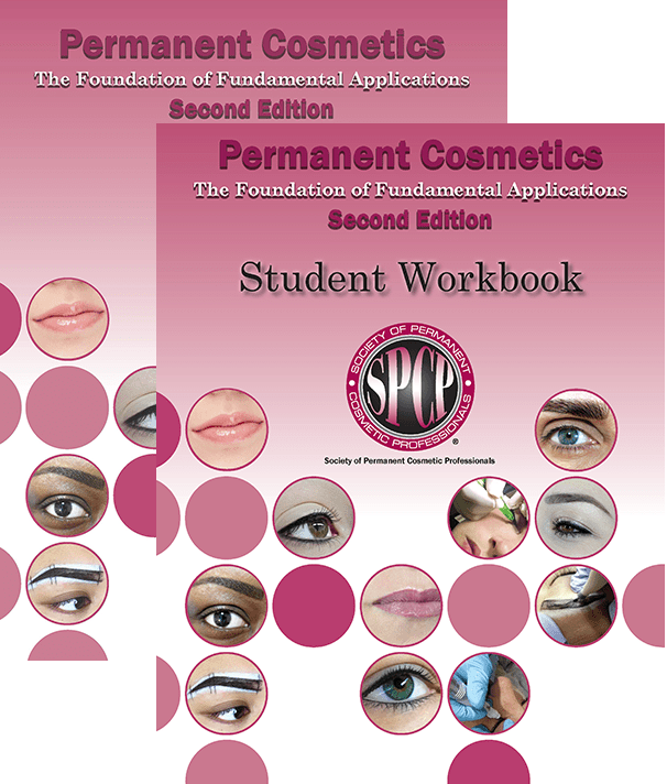 Permanent Cosmetics - The Foundation of Fundamental Applications & Student Workbook Bundle MBCSPCPBUN