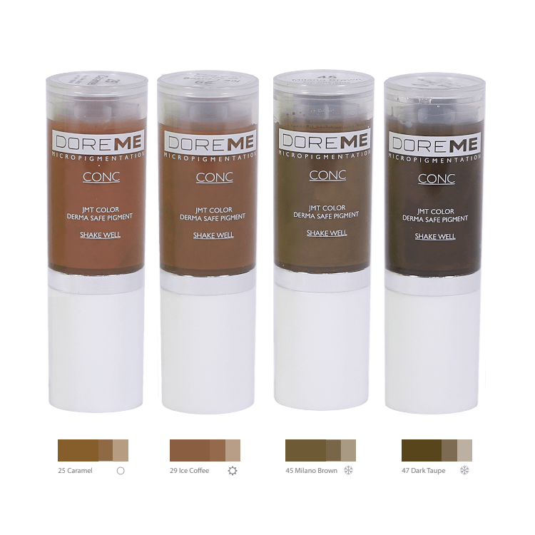 Doreme Pigments - Light Brown Set MBCDPLIGHT2