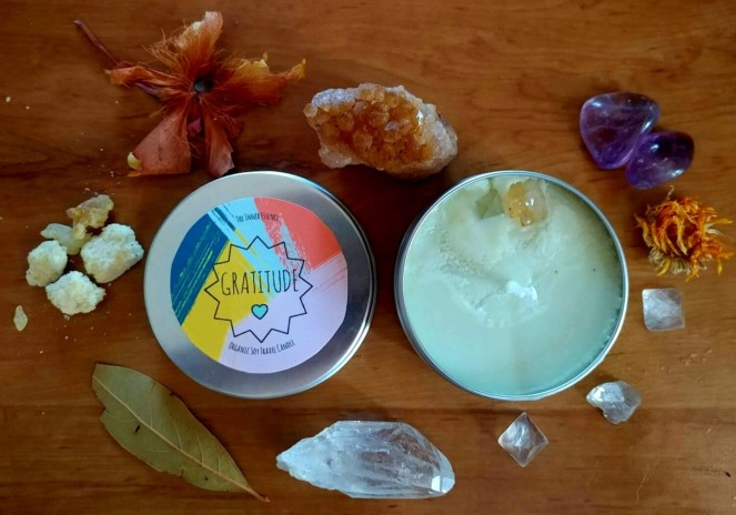 Gratitude Soy Candle