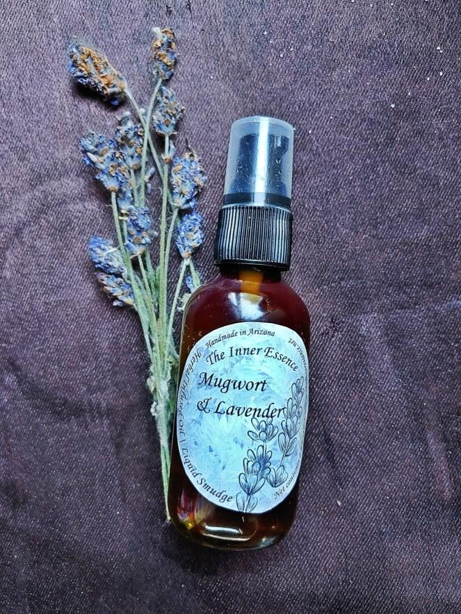 Mugwort & Lavender Oil | Liquid Cleanse